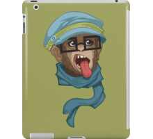 Hipster Monkey iPad Case/Skin