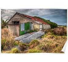 The Study of an old farm shed 2 - Experienced in HDR Poster