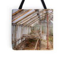 In An Abandoned Glasshouse Tote Bag