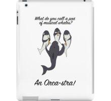 Orca-stra iPad Case/Skin
