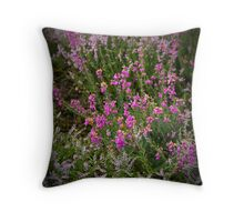 The heather and gorse Throw Pillow