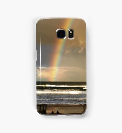 Watchin the Rainbow Samsung Galaxy Case/Skin