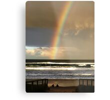Watchin the Rainbow Metal Print