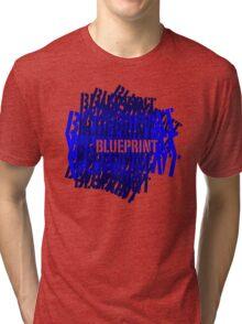 Blueprint, Funny Tri-blend T-Shirt