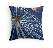 York Eye Throw Pillow