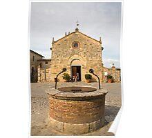 monteriggioni, Tuscany, Italy Poster