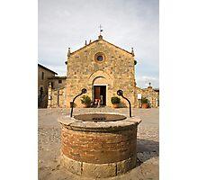 monteriggioni, Tuscany, Italy Photographic Print
