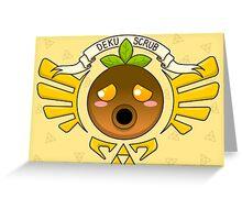 The Deku Mask Greeting Card