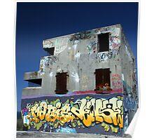The Centre Of Graffiti Poster