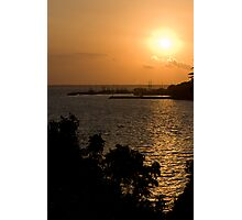 Sunset over Darwin Photographic Print
