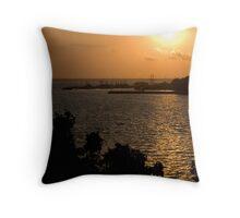 Sunset over Darwin Throw Pillow