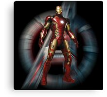 IRONMAN - about to move Canvas Print