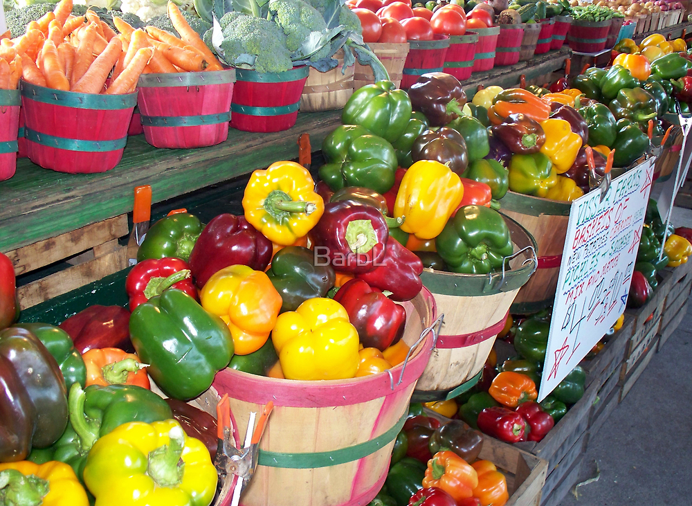Pretty Peppers by BarbL