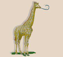 Giraffe. Womens Fitted T-Shirt