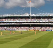 LORDS - HOME OF CRICKET by Eamon Fitzpatrick