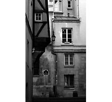 Rue des Barres Photographic Print