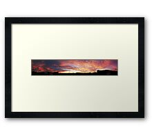 Dawn at Colac Bay, Southland, New Zealand Framed Print