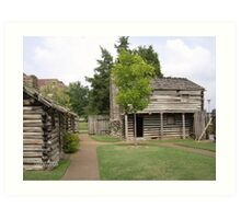 Fort Nashborough Art Print