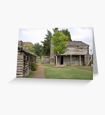Fort Nashborough Greeting Card