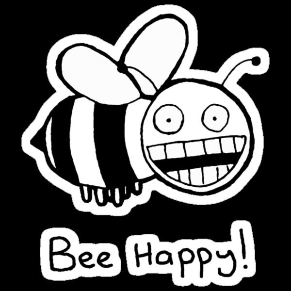 Bee Happy by bodiehartley