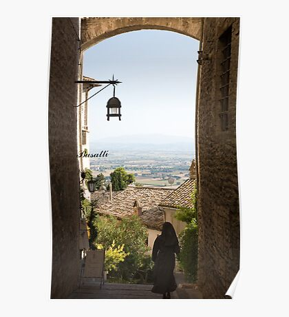 Assisi, Umbria, Italy Poster