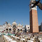 Saint Markos Square, Venice, Italy by Ian Middleton