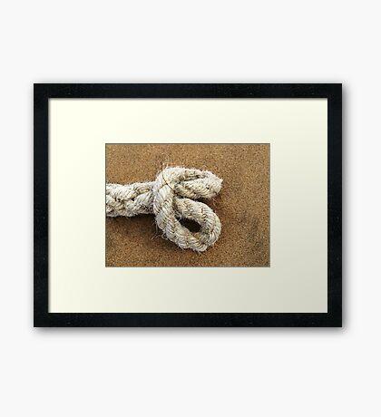 The Knot Framed Print