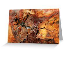 Crusty Rust Greeting Card