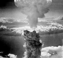 Mushroom Cloud Over Nagasaki by warishellstore