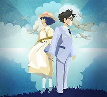 The Wind Rises by Julie Luke Art Work