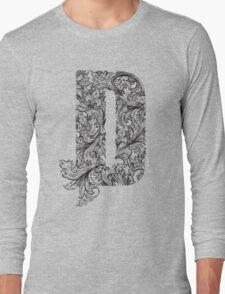 D Long Sleeve T-Shirt