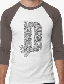 D Men's Baseball ¾ T-Shirt