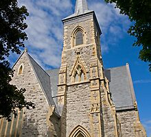 Trinity Anglican Church, Cornwall, Ontario. 1869. by Mike Oxley