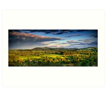 Toward Malvern Art Print