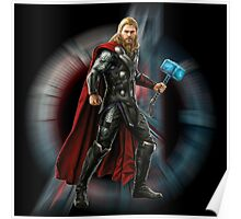 THOR - hammer glowing Poster