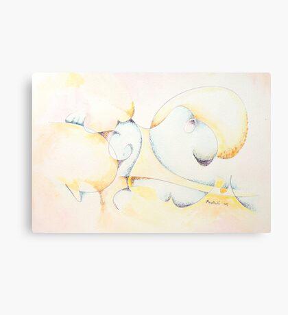 Circular Thoughts Canvas Print