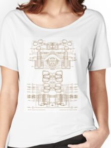 strukture III  Women's Relaxed Fit T-Shirt