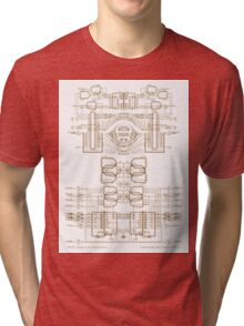 strukture III  Tri-blend T-Shirt