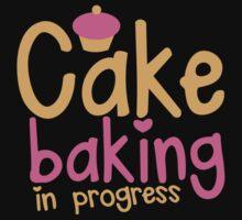 Cake baking in progress One Piece - Long Sleeve