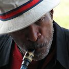 Street Musician 3 by Brad Sumner
