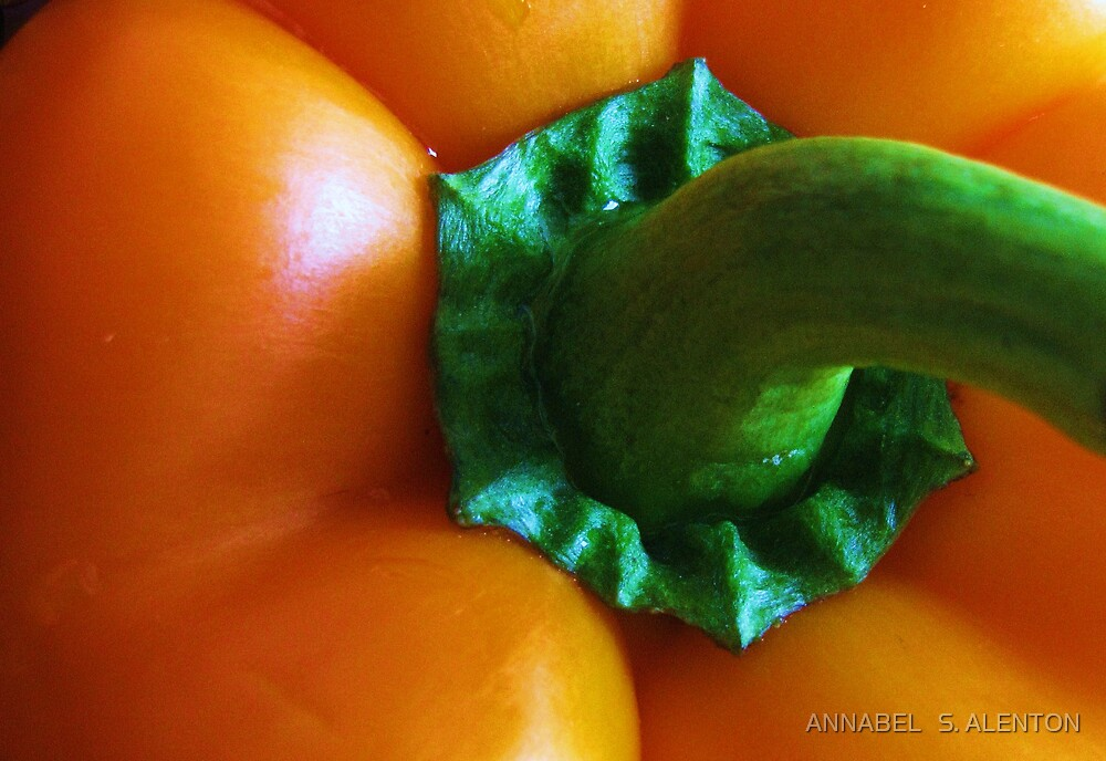 pepper up close by ANNABEL   S. ALENTON