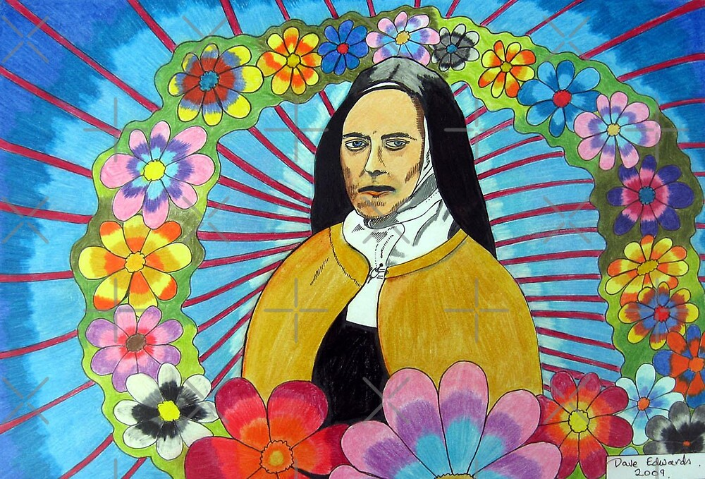 275 - THERESE OF LISIEUX - DAVE EDWARDS - COLOURED PENCILS - 2009 by BLYTHART