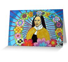 275 - THERESE OF LISIEUX - DAVE EDWARDS - COLOURED PENCILS - 2009 Greeting Card