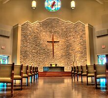 HDR - PLC - Church Interior by Doug Greenwald