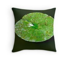 Lily Pad. Throw Pillow