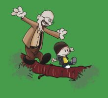 Breaking Bad Calvin And Hobbes One Piece - Short Sleeve