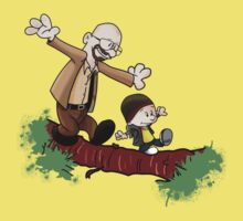Breaking Bad Calvin And Hobbes Kids Tee