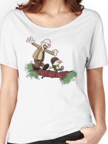 Breaking Bad Calvin And Hobbes Women's Relaxed Fit T-Shirt