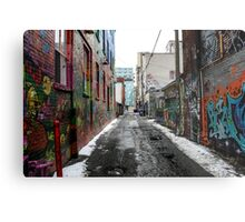 Graffiti Alley Toronto 2 Metal Print