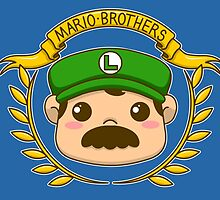 It's-a me, Luigi! by TheWhaleBaby